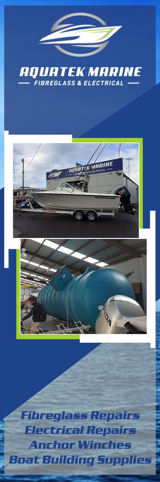 Aquatek Marine - Fibreglass Fabricators - 242 Portarlington