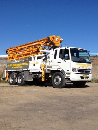 how to get a concrete pump ticket in nsw