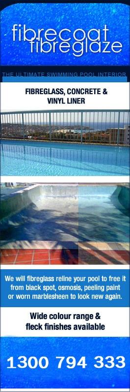 Fibrecoat Fibreglaze - Swimming Pool Maintenance & Repairs - Swansea