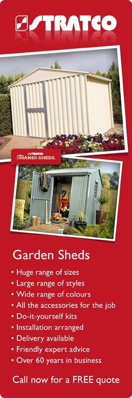 Stratco Garden Sheds