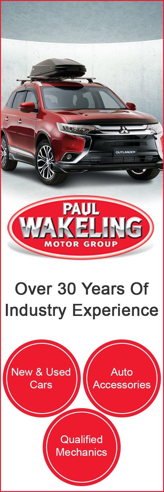Paul Wakeling Motor Group 112