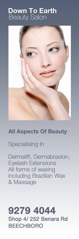 Down To Earth Beauty Salon - Beauty Salons - Shop 4/ 252 Benara Rd ...