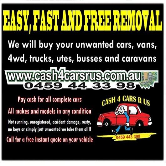 cash 4 cars r us car removal brisbane scrap metal merchants browns plains. Black Bedroom Furniture Sets. Home Design Ideas