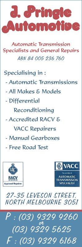 manual transmission repairs melbourne