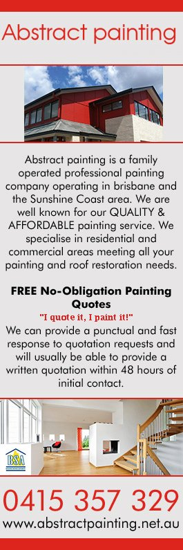 Abstract Painting - Painters & Decorators - Chermside