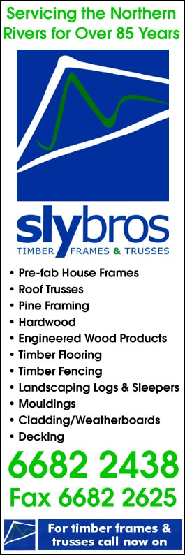 Sly Bros Timber Frames & Trusses - Roof Trusses & Wall Frames - GRAFTON