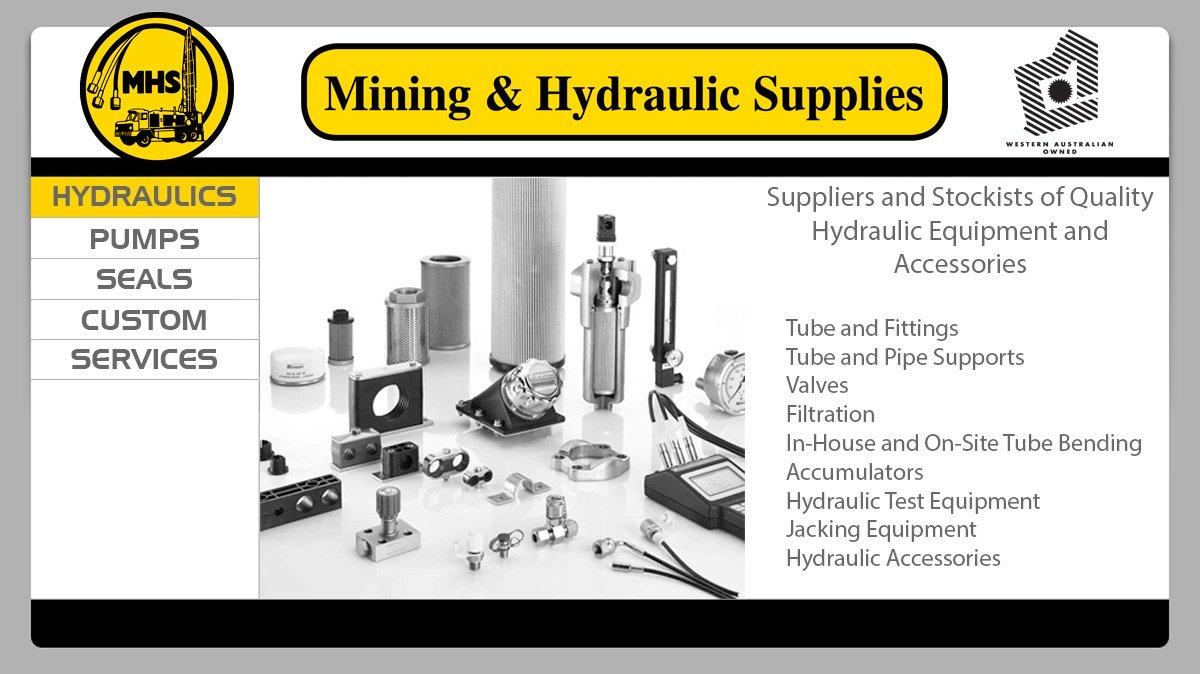 Mining & Hydraulic Supplies - Hydraulic Equipment & Supplies - 11