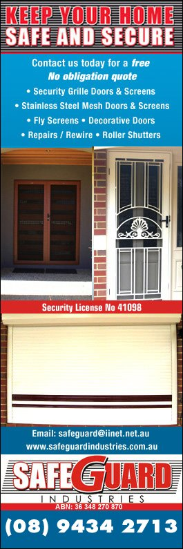 Safeguard Industries - Promotion  sc 1 st  Yellow Pages & Safeguard Industries - Security Doors Windows \u0026 Equipment - Unit ...