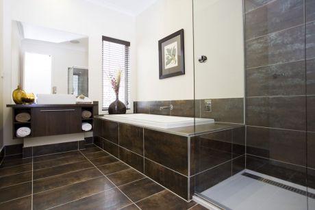 bevelled edge black gloss ceramic tile