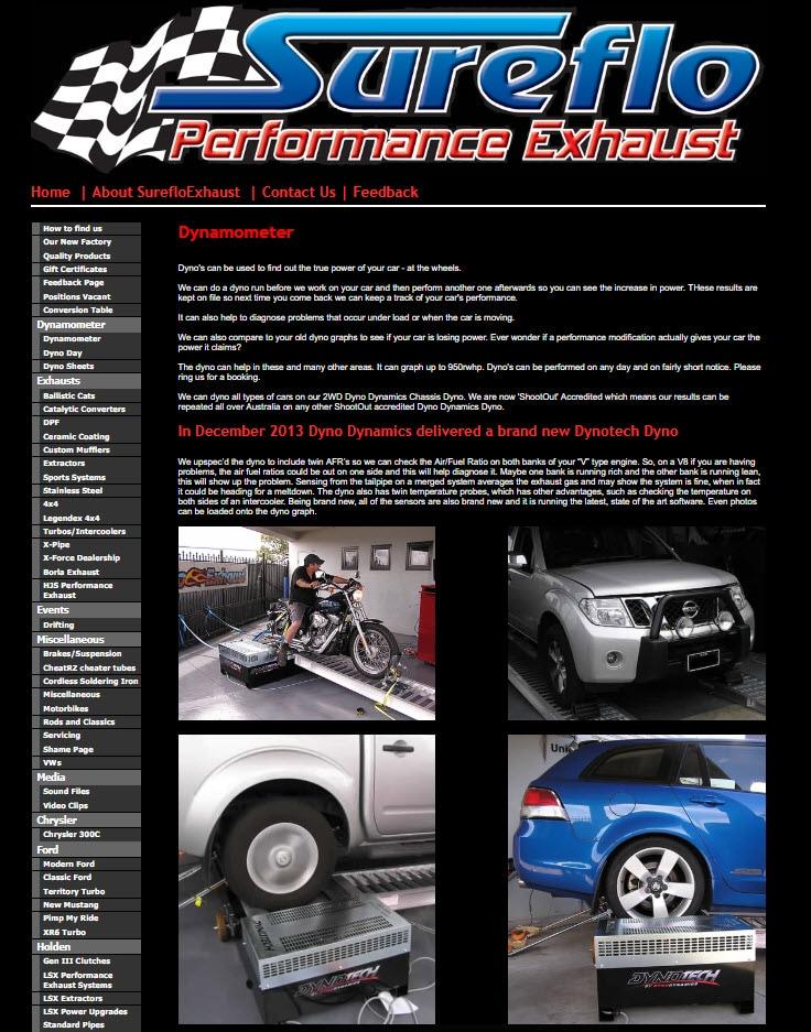Sureflo Exhaust - Exhaust Systems & Mufflers - Unit 4, Cnr