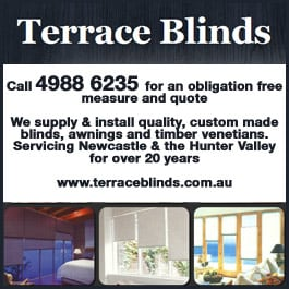 Terrace Blinds   Awnings   PromotionTerrace Blinds   Awnings   Blinds   Raymond Terrace. Outdoor Blinds And Awnings Newcastle. Home Design Ideas