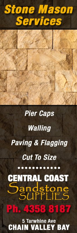 Central Coast Sandstone Supplies - Natural Stone Products