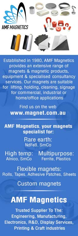 AMF Magnetics - Magnets & Magnetic Materials - Sydney