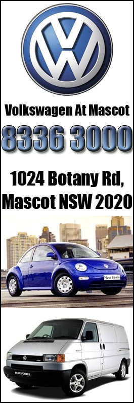Sydney City Volkswagen New Car Dealers 1024 Botany Rd