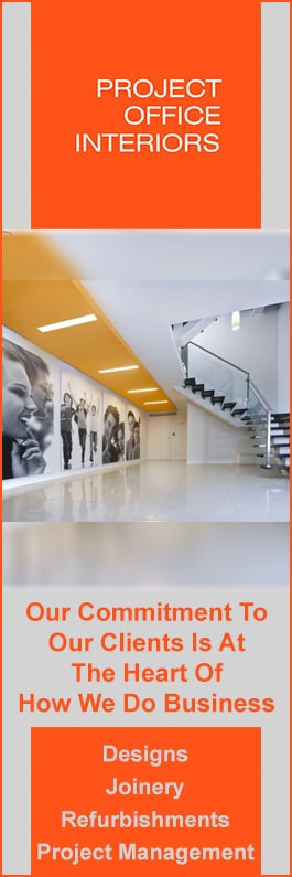PROJECT OFFICE INTERIORS | Design + Project Management   Promotion