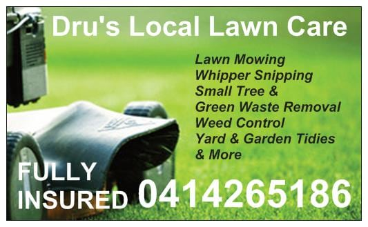 dru 39 s local lawn care lawn mowing services labrador