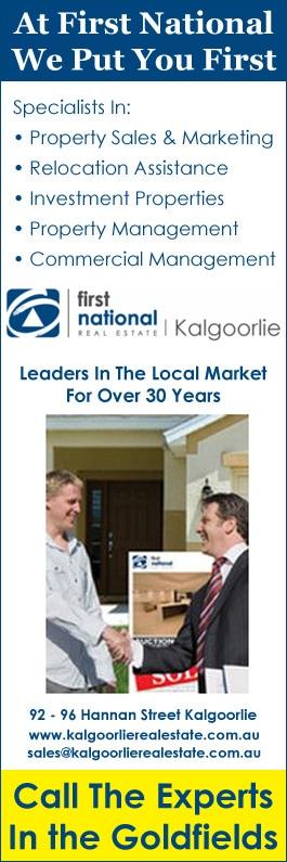 First National Real Estate Kalgoorlie - Real Estate Agents