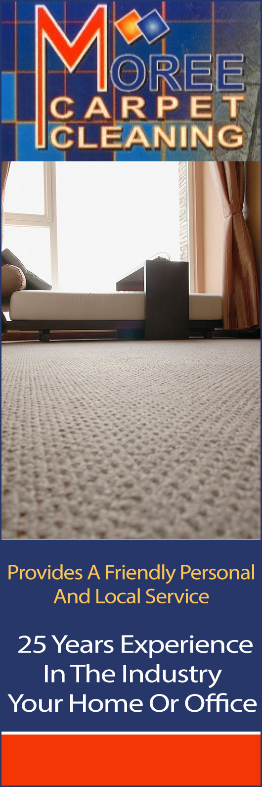 Moree carpet cleaning promotion