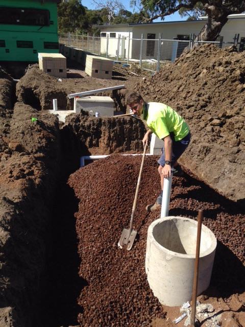Mike Gray Plumbing Septic Tank Installation