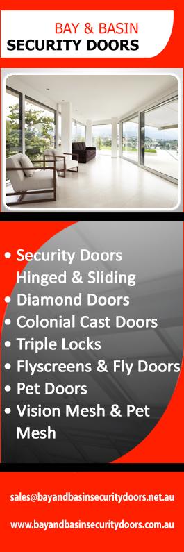 Bay \u0026 Basin Security Doors - Promotion & Bay \u0026 Basin Security Doors - Security Doors Windows \u0026 Equipment - NOWRA