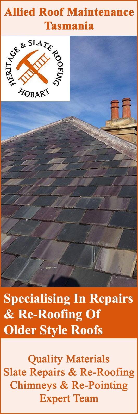 Allied Roof Maintenance Tasmania Roof Restoration Repairs Battery Point