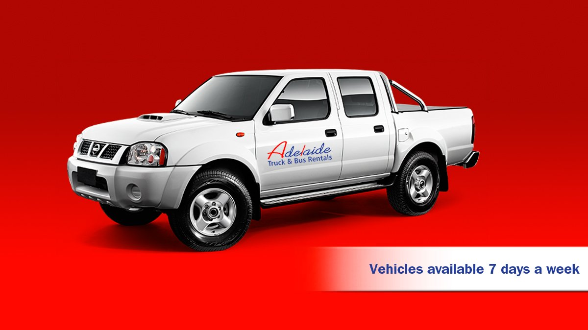 Hire a ute from adelaide truck bus rentals
