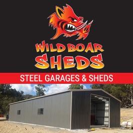 Wild Boar Sheds - Rural & Industrial Sheds - 66 Sydney Rd
