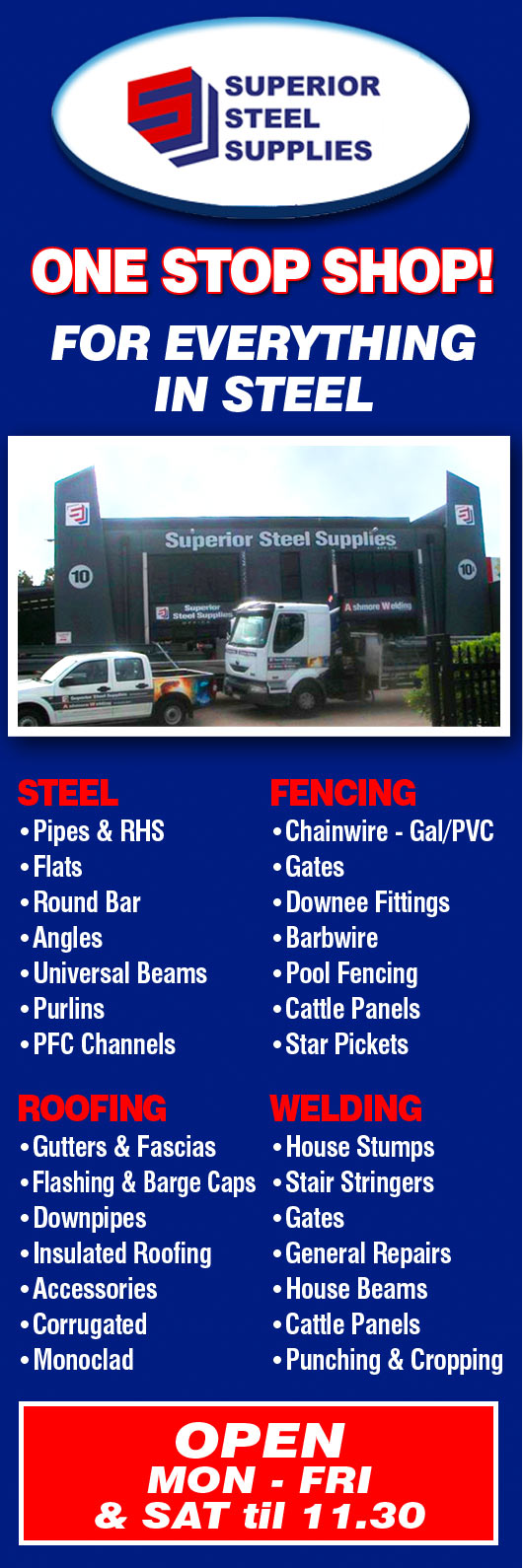 Superior steel supplies pty ltd fencing materials for Pool builders yatala