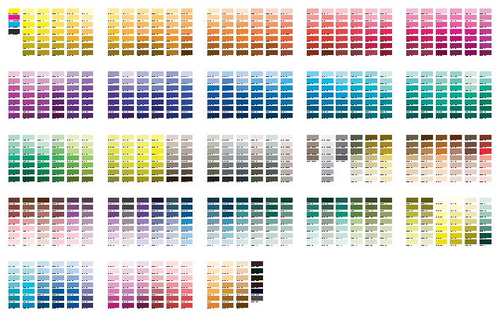 Crown Diamond Paint Color Chart - The Best Diamond 2018