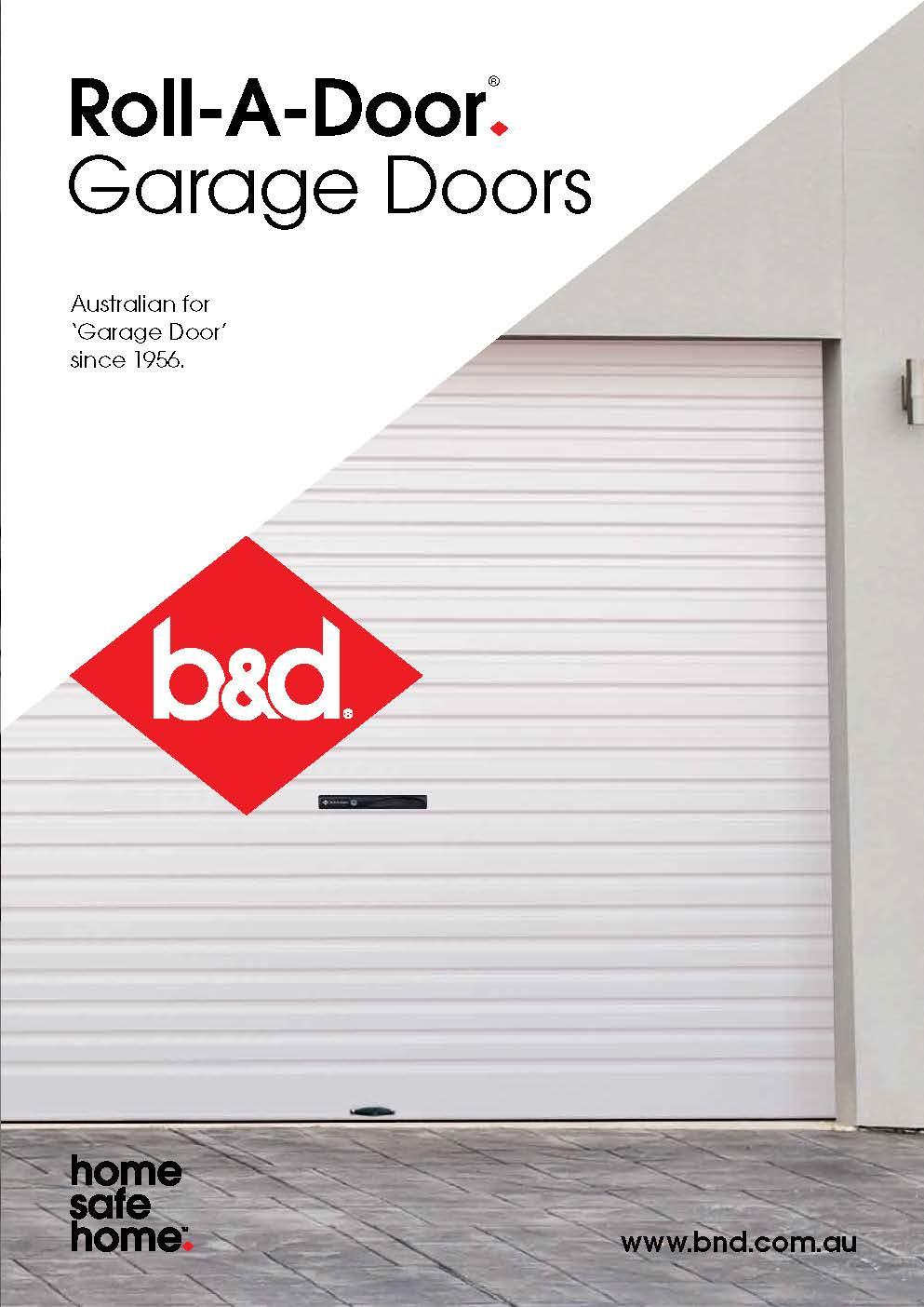 Bu0026D Roll-A-Door Brochure  sc 1 st  Yellow Pages & Noosa Garage Doors Pty Ltd - Garage Doors u0026 Fittings - 1/ 4 Leo ...