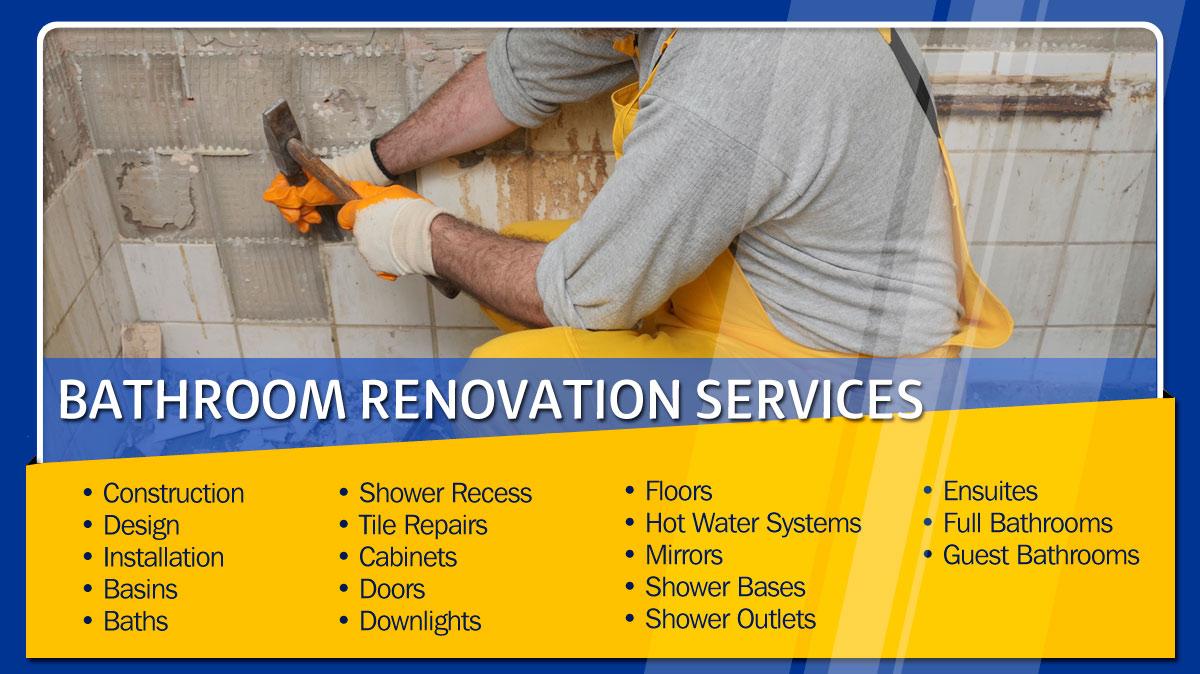 Taskforce Bathroom Kitchen Renovations Building Services Bathroom Renovations Designs Moorabbin