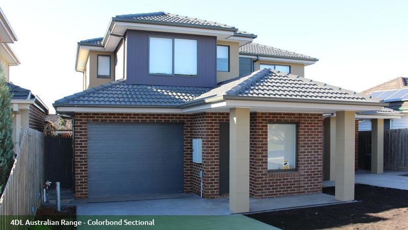 4DL Australian Range - Colorbond Sectional R J Garage Doors - Pic 1 & R J Garage Doors - Garage Doors \u0026 Fittings - DANDENONG