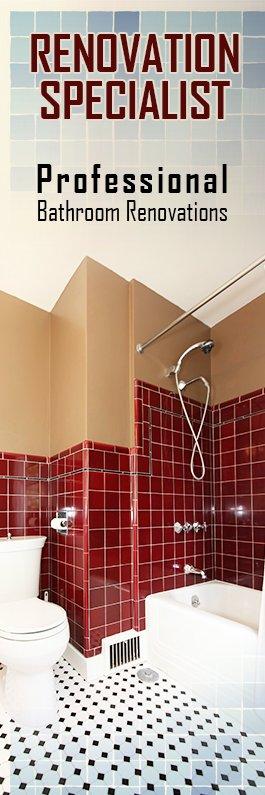 Professional Bathroom Renovations