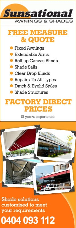 Sunsational Awnings Shades Awnings Upper Coomera