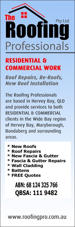 The Roofing Professionals Pty Ltd   Promotion