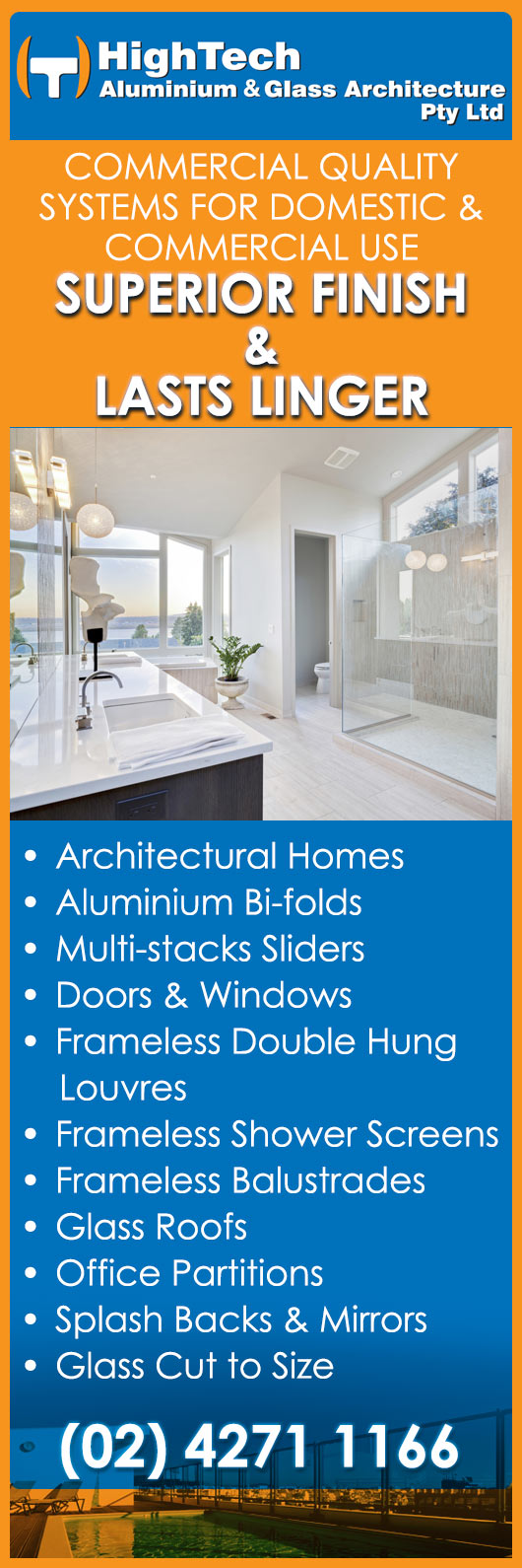 Hightech Aluminium And Glass Architecture Pty Ltd Aluminium