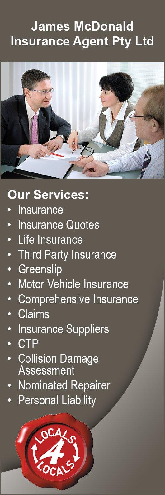 James McDonald Insurance Agent Pty Ltd - Car Insurance Providers ...