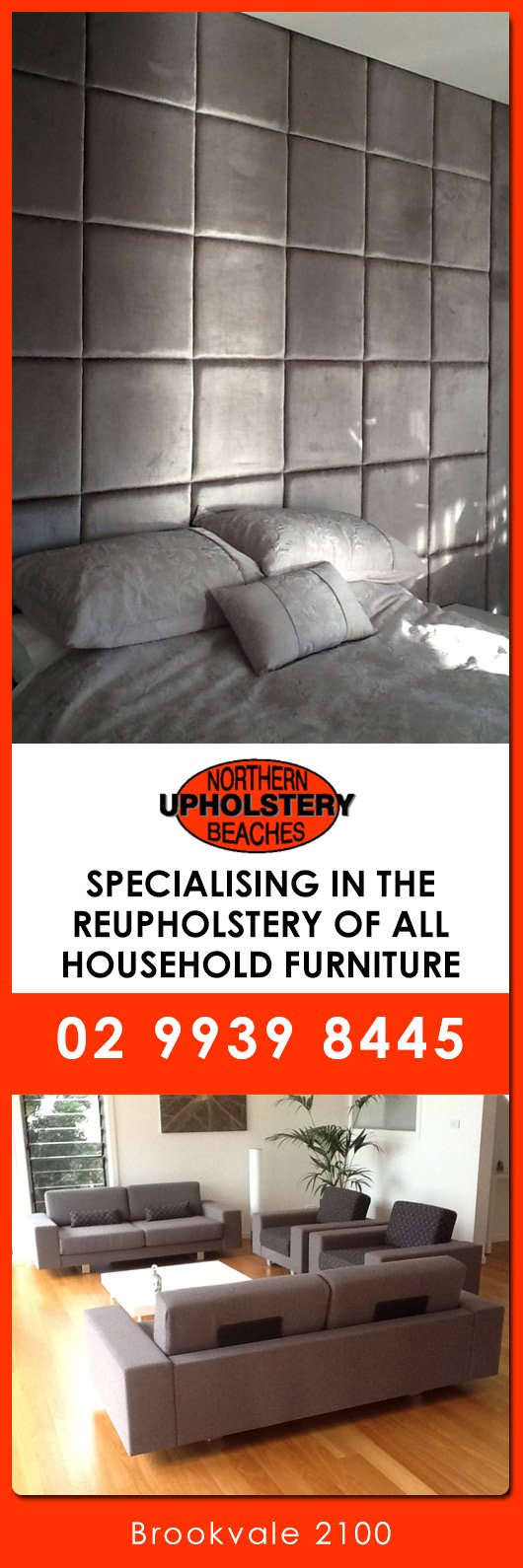 Northern Beaches Upholstery Promotion