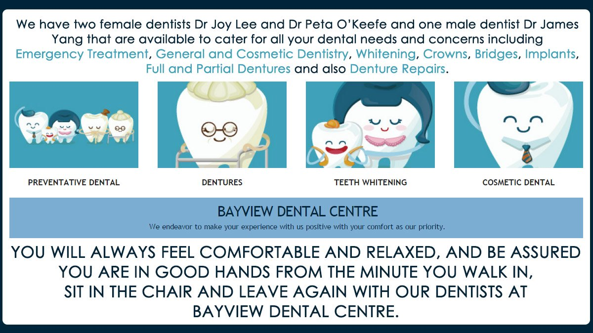 Dental Implant Quotes Bayview Dental Centre  Dentist  141 Bayview St  Runaway Bay