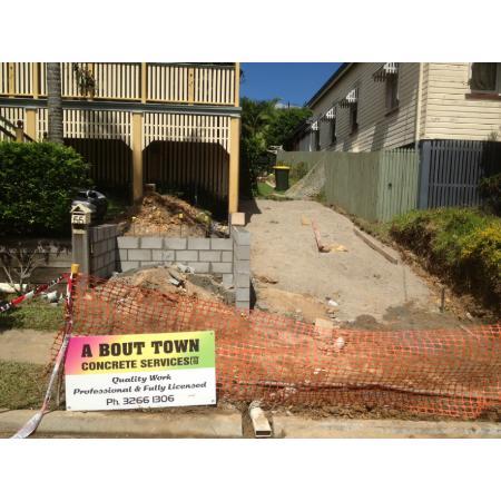 A Bout Town Concrete Services Pty Ltd Retaining Walls