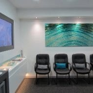 A calming & peaceful waiting room