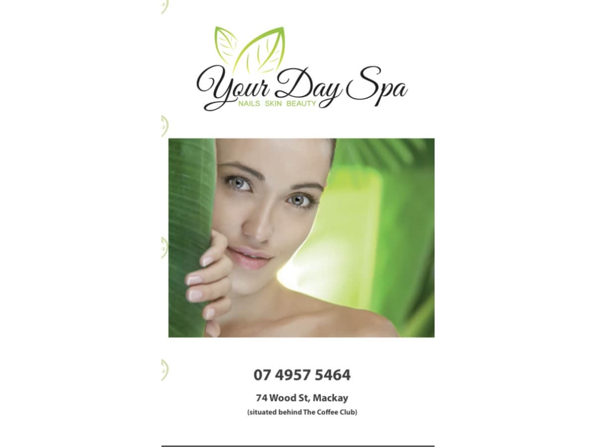 Your day spa beauty salons mackay central arcade 74 for 3 day spa