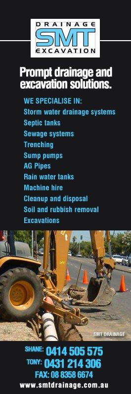 SMT Drainage - Drainage & Drain Contractors - Aberfoyle Park