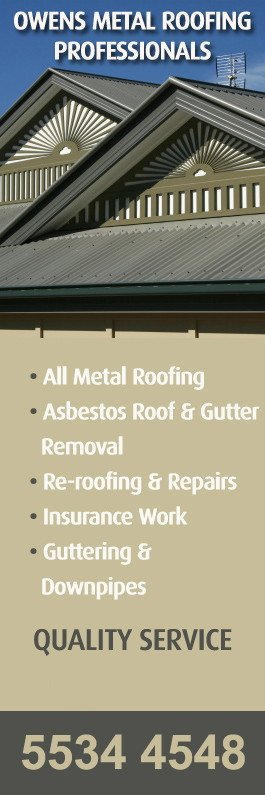 Owens Metal Roofing Professionals   Promotion
