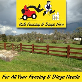 Dingo Hire Perth with experienced operator for new limited access  residential blocks 6