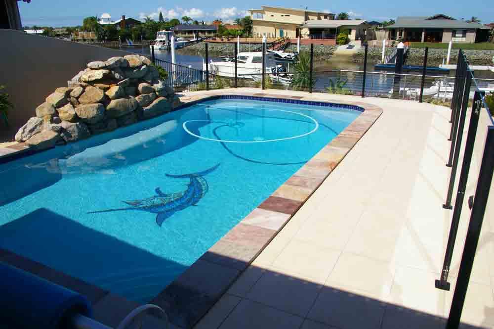Boomerang Pools Swimming Pool Designs Construction North Lakes