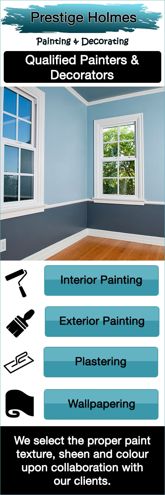 prestige holmes painting & decorating - painters & decorators
