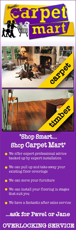 carpet mart promotion