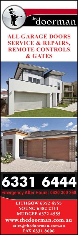 The Doorman Garage Doors Fittings 14 Hampden Park Rd Bathurst