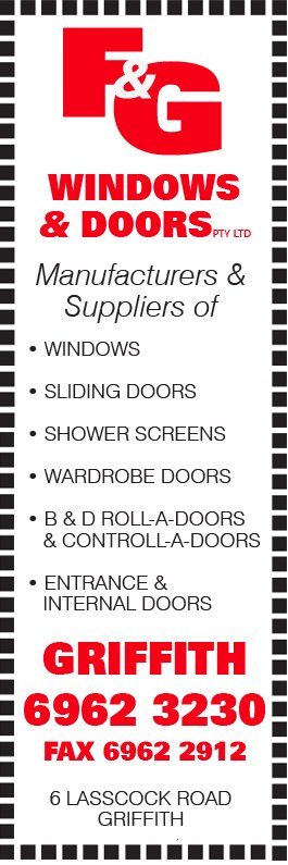 F G Windows Doors Pty Ltd Garage Doors Fittings 6 Lasscock
